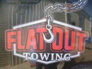 WELCOME TO FLATOUT TOWING AND RECOVERY A FLEURIEU PENINSULA SERVICE--- Goolwa Alexandrina Area Preview