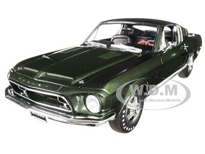 "1968 FORD MUSTANG SHELBY GT350H ""HERTZ"" DARK GREEN LTD ED 1/18 BY ACME A1801825"