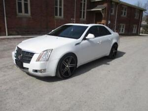 2008 Cadillac CTS-4   -White! All wheel drive ! fully loaded!