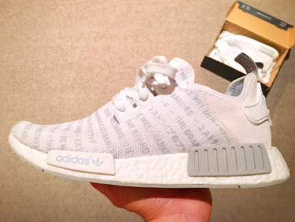 (Rare) NMD White-Out US9.5