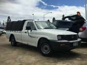 2003 Mitsubishi Triton MK MY02 GL White 5 Speed Manual Cab Chassis Greenslopes Brisbane South West Preview