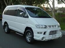 2005 Mitsubishi Delica SPACEGEAR Series 3 White 4 Speed Automatic Wagon Caringbah Sutherland Area Preview