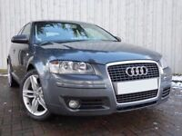 Audi A3 1.9 TDI Sport 105, Gorgeous 3 Door A3, with 1.9 TDI Engine, Full Leather, Service History