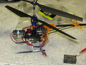 BLADE CX2 COAXIAL BRUSHLESS CONVERTED HELI!