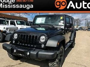 2018 Jeep Wrangler Unlimited DUAL TOP/ MAX TOW PACKAGE/AC