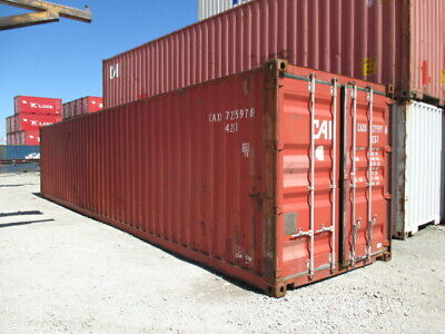 Used Shipping Storage Containers 40ft Wwt Miami Fl 2900