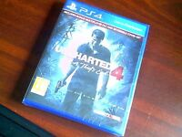 Uncharted 4 sealed with receipt fom john lewis payed £45