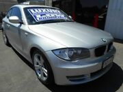 2010 BMW 123d E82 MY10 Steptronic Silver 6 Speed Sports Automatic Coupe Edwardstown Marion Area Preview