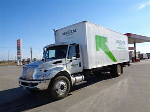 2013 International 4300M7 4x2, Used Dry Van