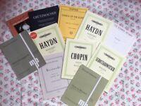 Cello Musics, Violin Musics & Piano Music Books for SALE!!!