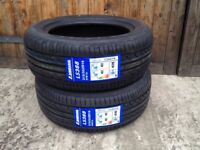 2x 215 55 16 W rated XL landsail tyres brand new