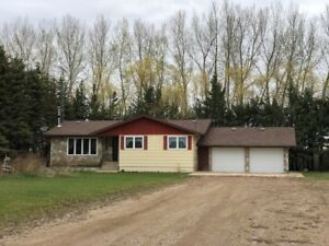 2.07 Acres with 5 Bedroom Bungalow For Sale in Mun. of Roblin!