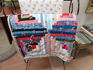 Vintage Crazy Quilt - Hand Made London Ontario image 1