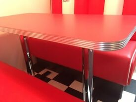 Retro Tables - Restaurant tables, Amirican diner tables