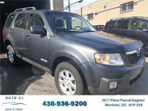 ***2008 MAZDA TRIBUTE***!!BAS KM!!/4 CYLINDRES/IMPECCABLE
