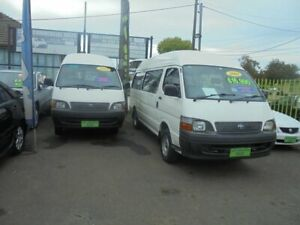 2001 Toyota HiAce RZH125R Commuter White 4 Speed Automatic Bus Punchbowl Canterbury Area Preview
