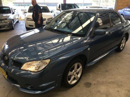 2006 Subaru Impreza S MY06 AWD Blue 5 Speed Manual Sedan