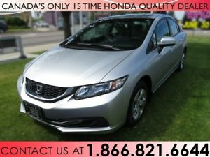 2014 Honda Civic Sedan LX | 1 OWNER | NO ACCIDENTS