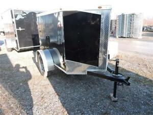 Remorque fermée 4X6 / Enclosed trailer