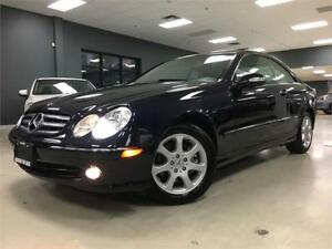 2004 Mercedes-Benz CLK-Class 3.2L**ONLY 55KM**ONE OWNER!!**