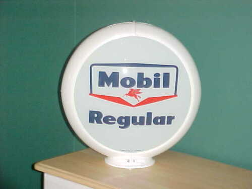MOBIL REGULAR GAS PUMP GLOBE