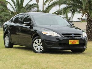 2011 Ford Mondeo MC LX PwrShift TDCi Black 6 Speed Sports Automatic Dual Clutch Hatchback Hendon Charles Sturt Area Preview