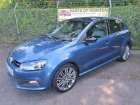 Volkswagen Polo 1.4 Blue GT TSi 5DR (blue) 2014