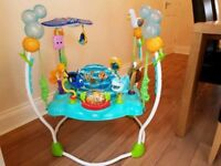 Finding nemo jumperoo good but used condition.