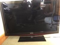 "48"" Samsung Flat Screen TV Black with Built-In Freeview + Remote"