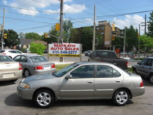 **2005 Nissan Sentra Special Edition**  Certified & E-tested