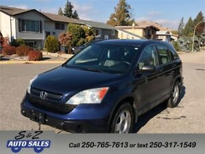 2007 Honda CRV LX LOW KM!