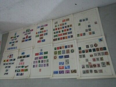 Nystamps British GB old stamp collection Scott page £3100/$3800