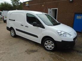 Peugeot Partner 716 S 1.6 Hdi 92 Crew Van Euro 5 DIESEL MANUAL WHITE (2014)