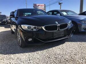 2014 BMW 4 Series 428i xDrive|RED LEATHER INTERIOR|2DR CPE|AC|