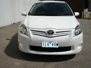 2012 Toyota Corolla ZRE152R MY11 Levin ZR White 6 Speed Manual Hatchback West Footscray Maribyrnong Area Preview