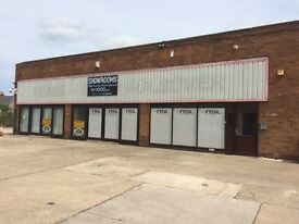 BOLSOVER, CHESTERFIELD PROMINENT GARAGE PREMISES TO LET