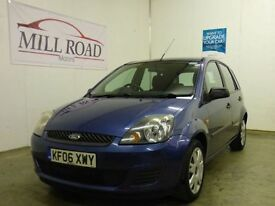 FORD FIESTA 1.4 STYLE CLIMATE 16V 5d 78 BHP FULL SERVICE HISTO (blue) 2006
