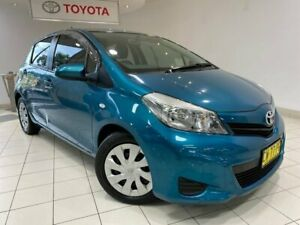 2013 Toyota Yaris NCP131R YRS Blue 4 Speed Automatic Hatchback Waterloo Inner Sydney Preview