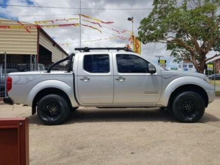 2009 Nissan Navara D40 Titanium Chrome 6 Speed Manual 4D Utility
