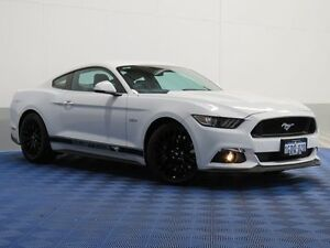 2016 Ford Mustang FM MY17 Fastback GT 5.0 V8 White 6 Speed Automatic Coupe Jandakot Cockburn Area Preview