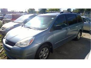 2004 Toyota Sienna LE DVD player + extra set of tires