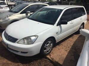 2007 Mitsubishi Lancer CS White 4 Speed Auto Active Select Wagon Hidden Valley Darwin City Preview