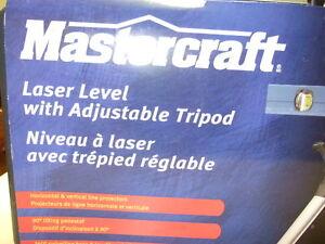 Laser level by Mastercraft