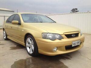 2005 Ford Falcon BA MkII XR6 Gold 4 Speed Auto Seq Sportshift Sedan