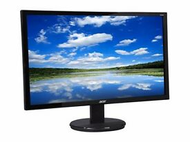 "BRAND NEW MONITOR ACER 24"" K242HL. PERFECT CONDITION - IN BOX (opened)"