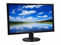 """BRAND NEW MONITOR ACER 24"""" K242HL. PERFECT CONDITION - IN BOX (opened)"""