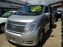 2004 Nissan Elgrand E51 Highwaystar Silver 5 Speed Automatic Wagon Greenslopes Brisbane South West Preview
