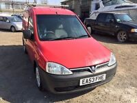 Vauxhall Combo van 2003, starts and drives well, 1 years MOT (runs out April 2018), van located in G