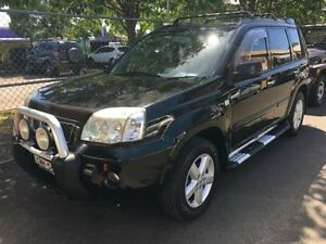 2007 Nissan X-Trail T30 MY06 TI (4x4) Black 5 Speed Manual Wagon Campbelltown Campbelltown Area Preview