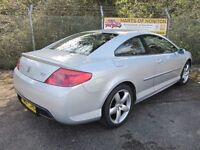 Peugeot 407 3.0 V6 GT 2DR Tip Coupe Auto (silver) 2007